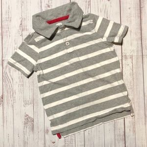 4/$15 SALE⚡️Old Navy Boys 18-24M Striped Polo